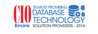 20 Most Promising Database Technology Solution Providers - 2016